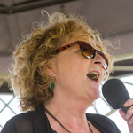 Hilda Clemas features with Ray Charles tribute Blue Ray in Chepstow, June 2015